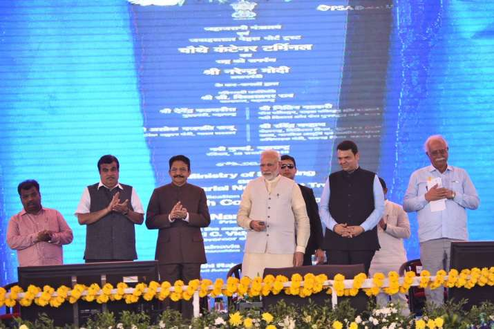 PM Modi on Sunday laid foundation for Navi Mumbai