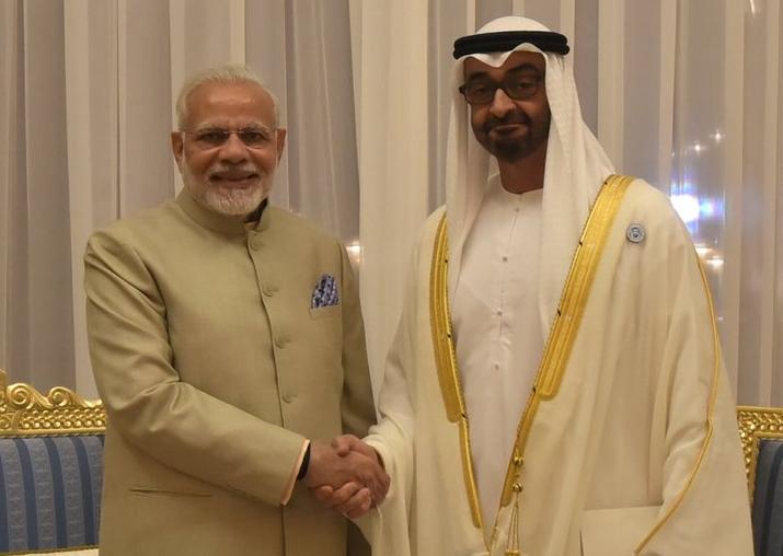 PM Modi meets Crown Prince of Abu Dhabi; India, UAE sign 5