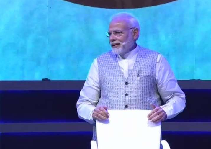 PM Modi is addressing young students for their examination-related concerns
