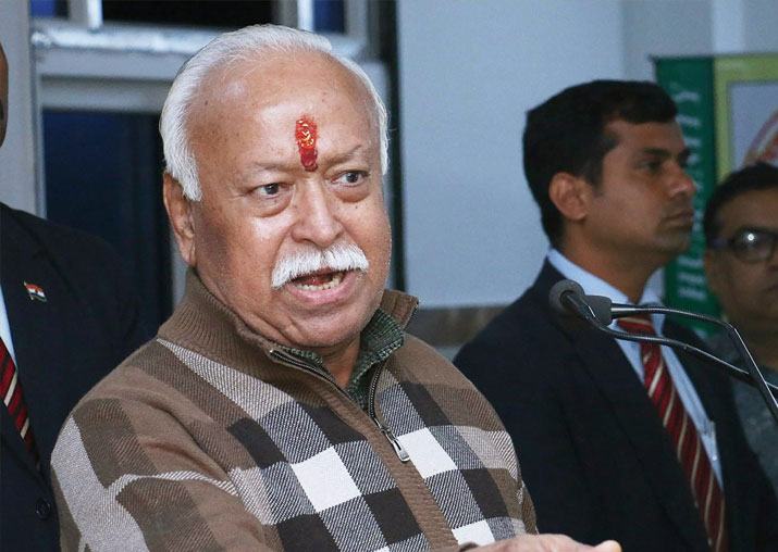 Case filed against RSS chief Mohan Bhagwat over army remarks