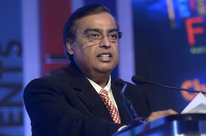 File pic of Mukesh Ambani