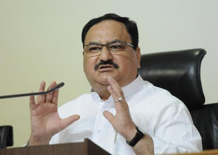File pic of Union Minister JP Nadda