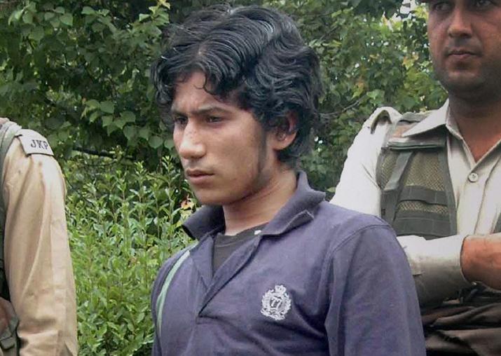 Pakistani terrorist Naveed Jutt, who escaped from