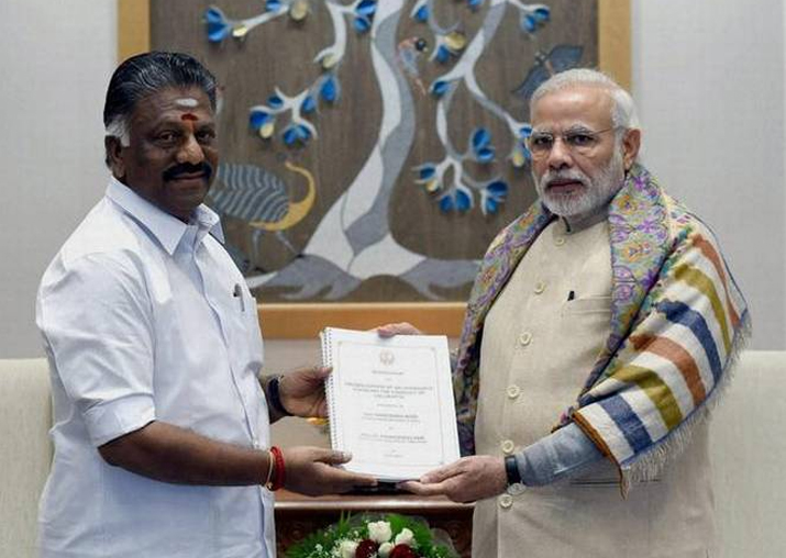 I merged with Palaniswami faction on PM Modi's suggestion:
