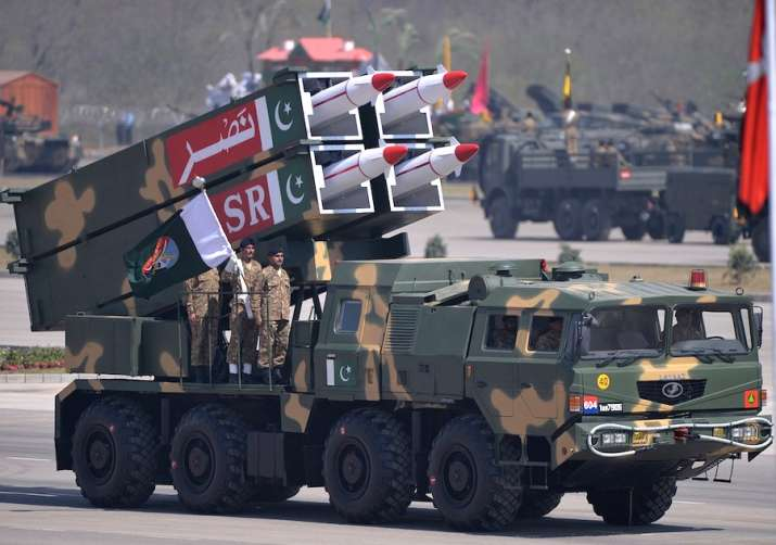 Pakistan developing new types of nuclear weapons, including