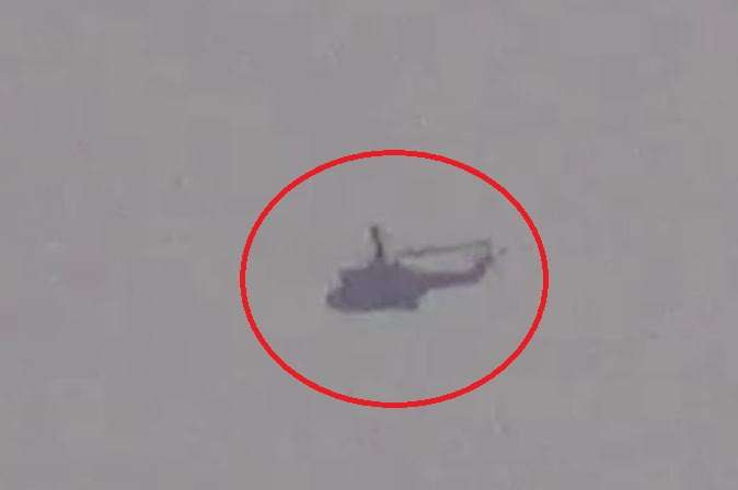 Pakistani helicopter comes near LoC in J&K's Poonch