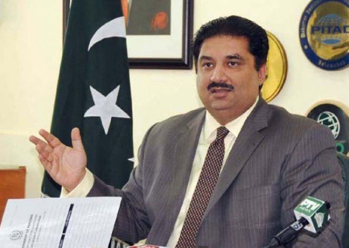 Pakistan Defence Minister Khurram Dastgir Khan