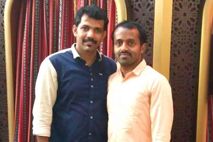 Sunil Mappatta Krishnan Kutty Nair (right) is the latest