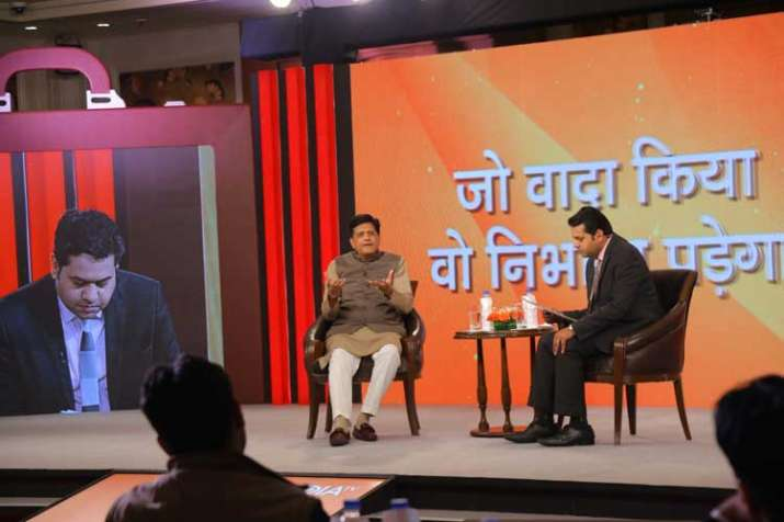 Piyush Goyal on India TV Budget Samvaad: Modernisation of railways will create jobs, ease of life