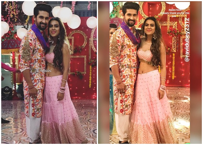 Nia Sharma And Ravi Dubey