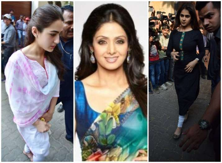 Bollywood offers offer condolences to Sridevi family