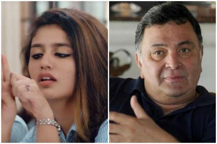 Rishi Kapoor, Priya Prakash Varrier