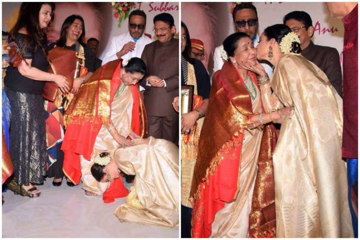 Rekha, Asha Bhosle