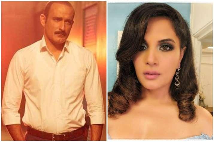 Akshaye Khanna and Richa Chadha