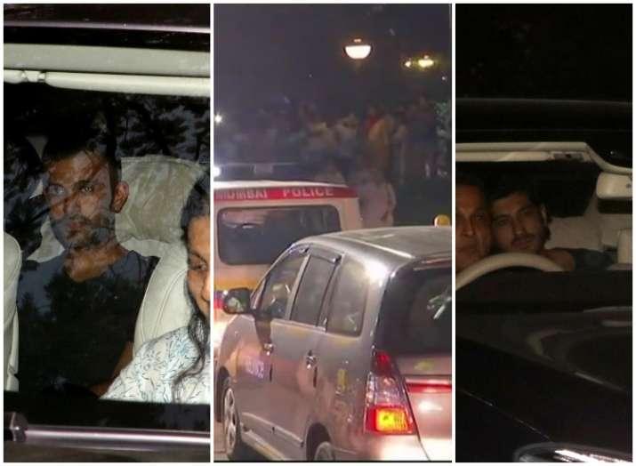 Sridevi body in Mumbai