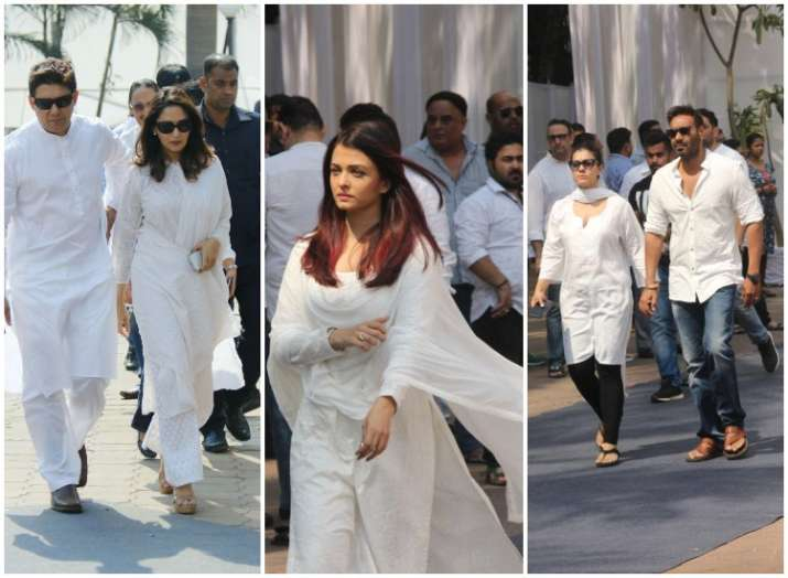 Image result for aishwarya rai in sri devi funeral