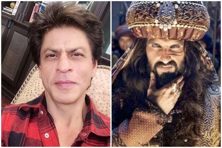Shah Rukh Khan, Ranveer Singh, Padmaavat