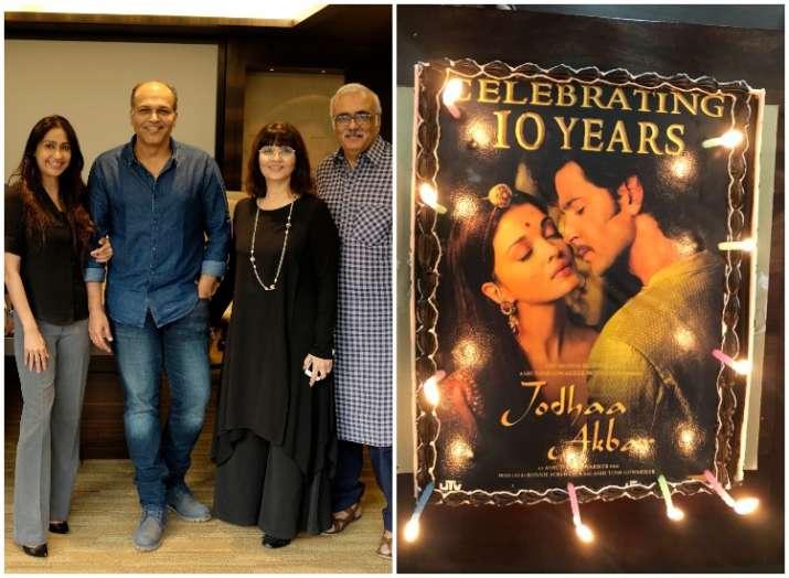 Here's how Ashutosh Gowariker and team celebrated 10 years