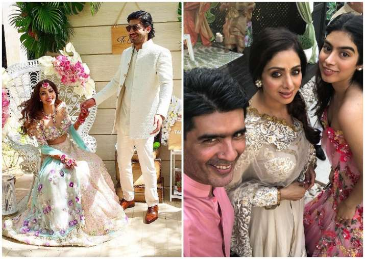 Mehndi Ceremony Dress For Bride : Fugly actor mohit marwahs sangeet and mehendi ceremony was a star