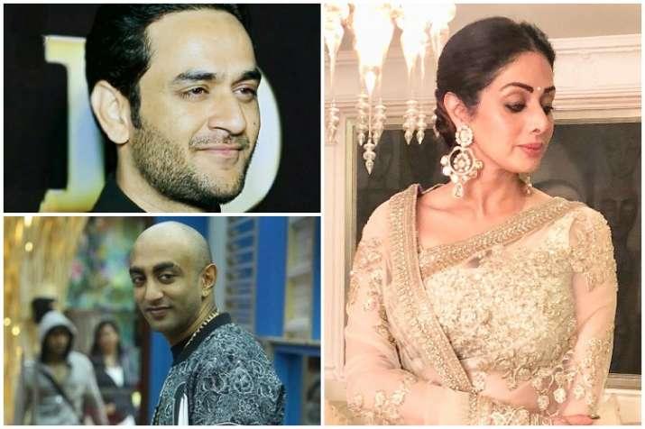 Akash Dadlani, Vikas Gupta, Sridevi