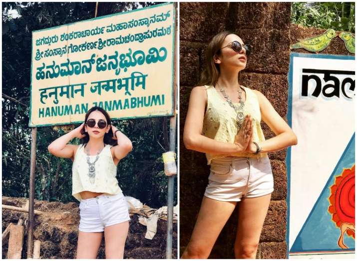 Bigg Boss 10 Nitibha Kaul trolled for wearing shorts
