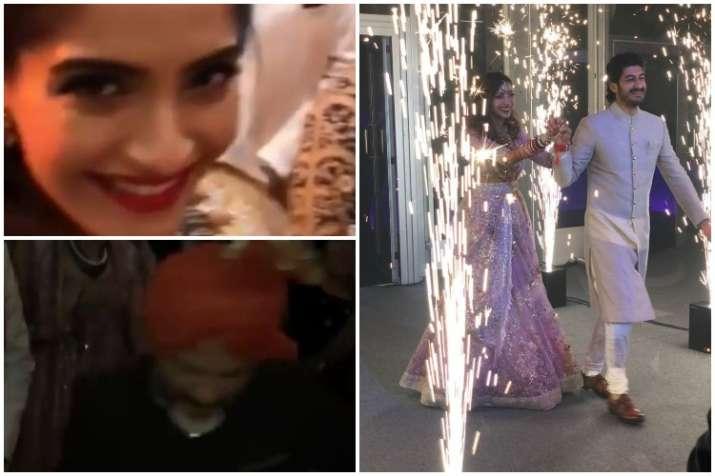 Anil Kapoor, Sonam Kapoor, Mohit Marwah wedding