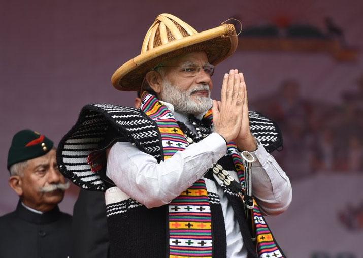 PM Modi visits Arunachal Pradesh