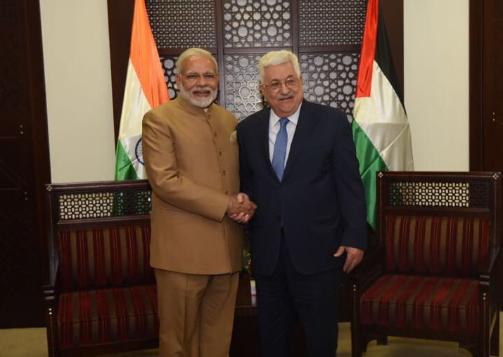 Palestine President Mahmoud Abbas asks India to facilitate