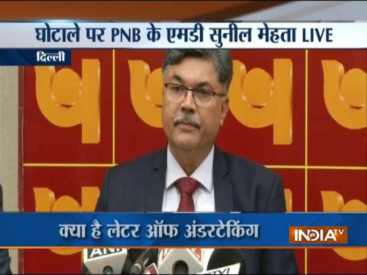 Punjab National Bank on Thursday addressed media in Delhi