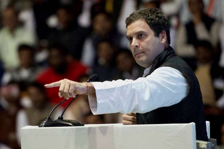 File picture of Congress president Rahul Gandhi