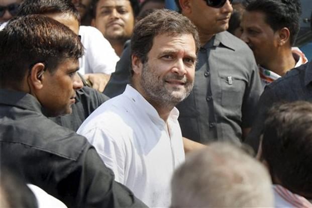 File photo of Congress president Rahul Gandhi.