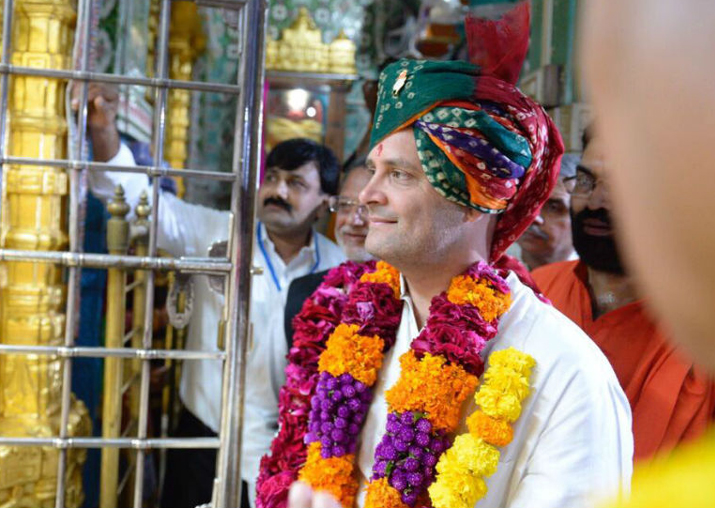 Rahul Gandhi to continue his temple visits in Karnataka: