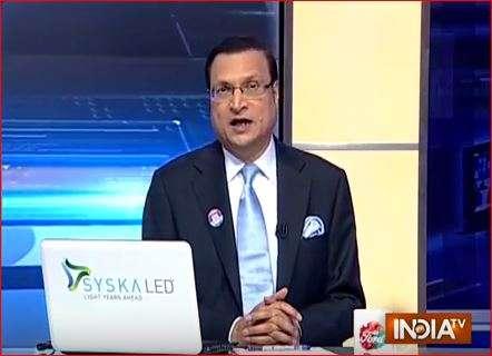 India TV Editor-in-chief Rajat Sharma.