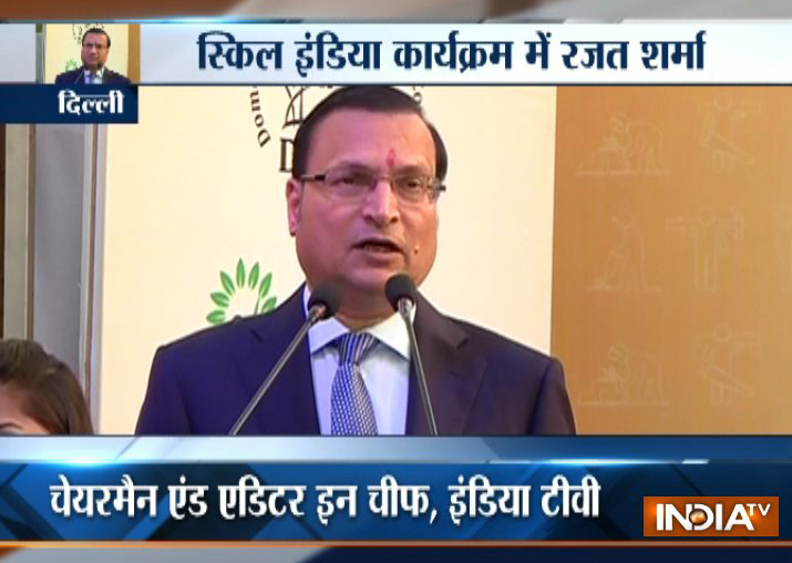 India TV Editor-in-chief Rajat Sharma calls for making