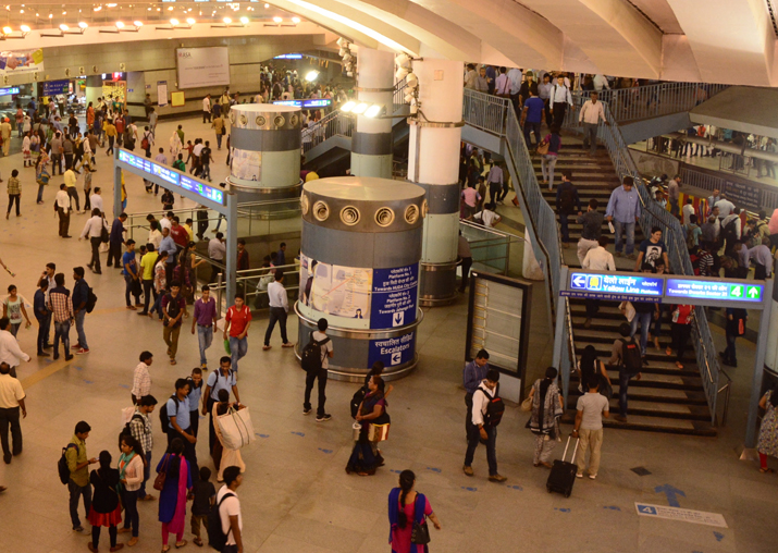 Representational pic - Delhi: Protests at Rajiv Chowk Metro