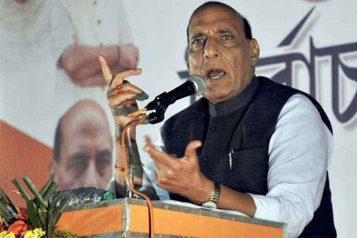 Lotus to bloom in Tripura after Assembly polls: Rajnath
