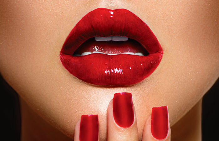 how to become red lips