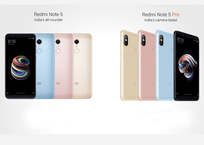 Xiaomi kicks off 2018 with Redmi Note 5, Note 5 Pro in India