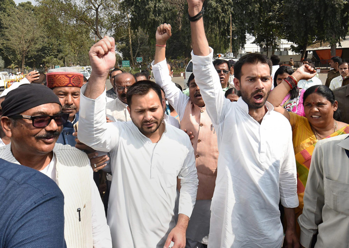 Bihar hit-and-run case: Opposition protests in assembly