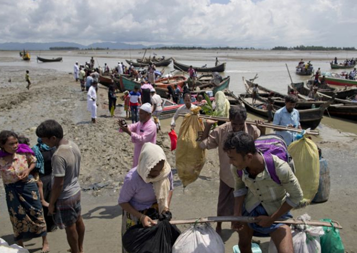 File pic - Myanmar government denies report of Rohingya