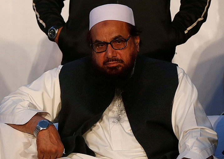 File pic of JuD terrorist Hafiz Saeed