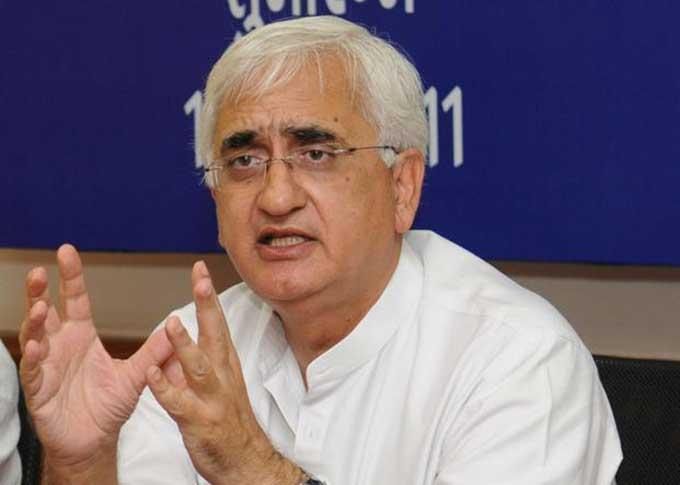 Congress leader Salman Khurshid