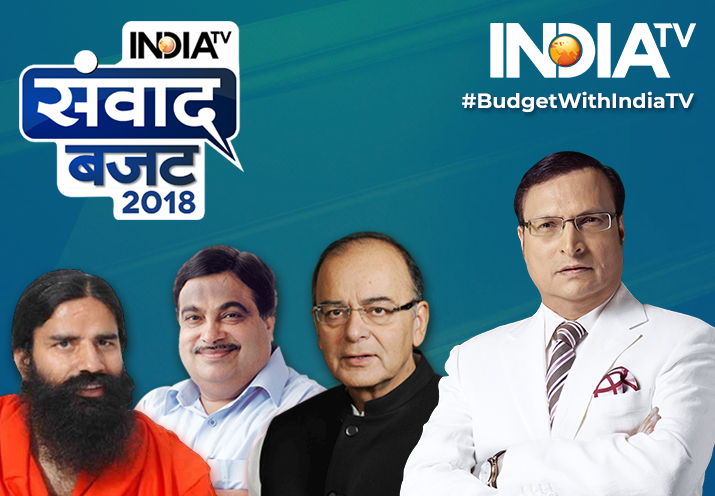 India TV Samvaad on Budget 2018: Day-long brainstorming by