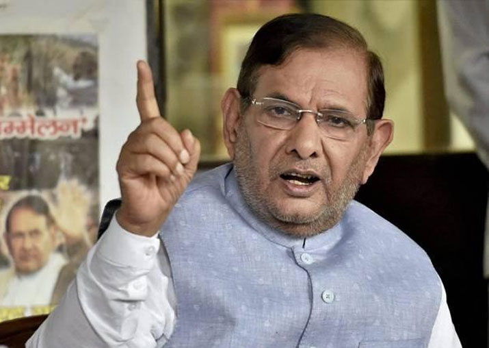State of undeclared emergency in country: Sharad Yadav