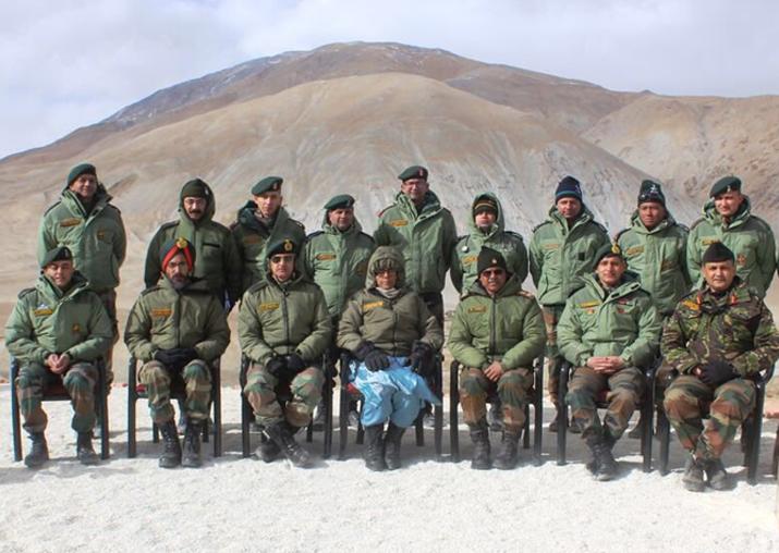 Defence Minister Nirmala Sitharaman visits forward posts in