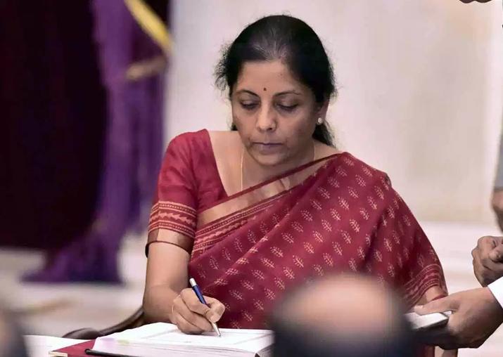 File pic of Nirmala Sitharaman