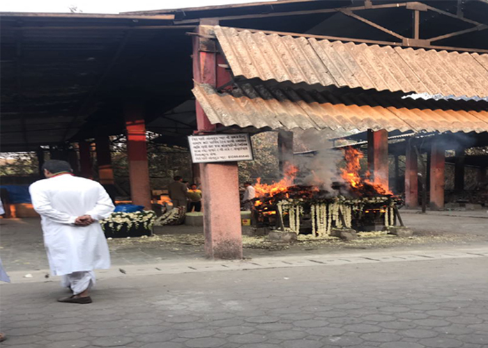 India Tv - Sridevi's last picture before cremation