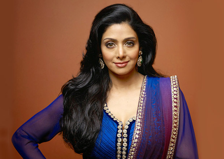 File pic of Sridevi
