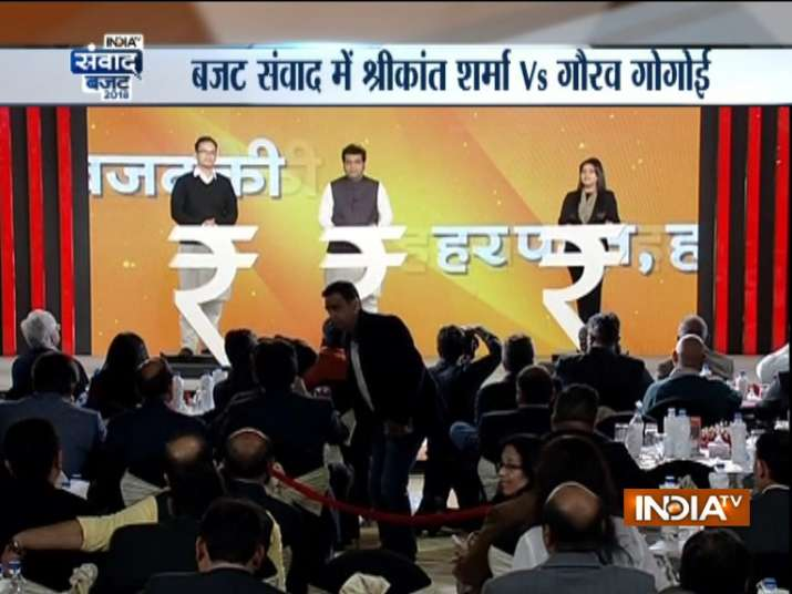 India TV Budget Samvaad: BJP created more jobs than it