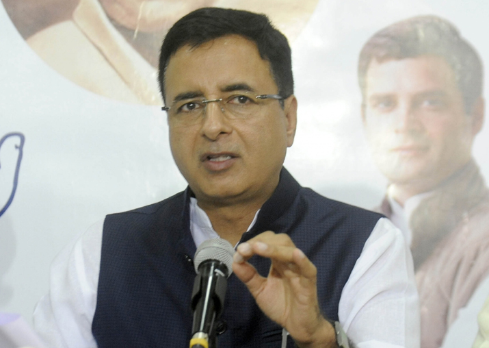 Congress Communications in charge Randeep Singh Surjewala